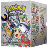 Pokemon Adventures Gold & Silver Boxed Set (Volumes 8-14) by H Kusaka