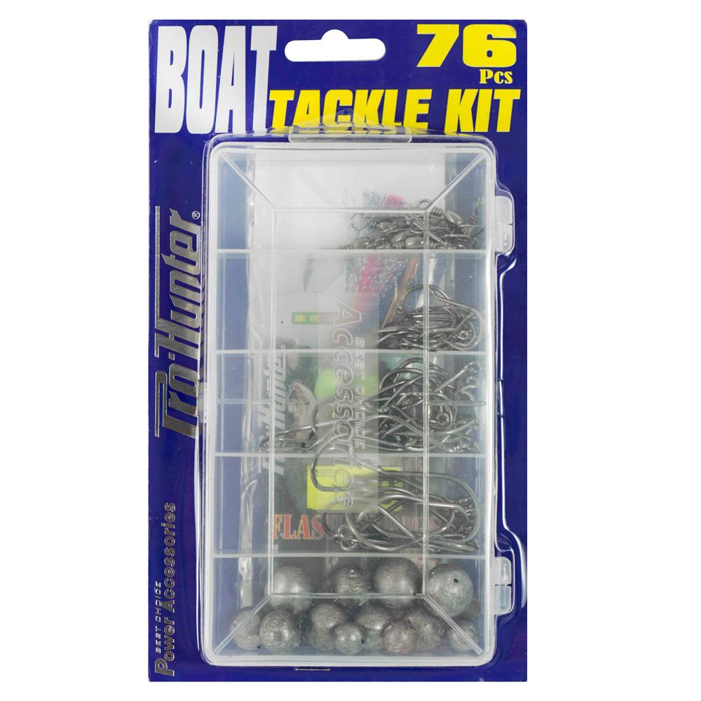 Pro Hunter 76 Piece Boat Tackle Kit image