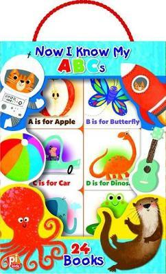 I Know My ABCs 24 Book Carry Case by Susan Rich Brooke