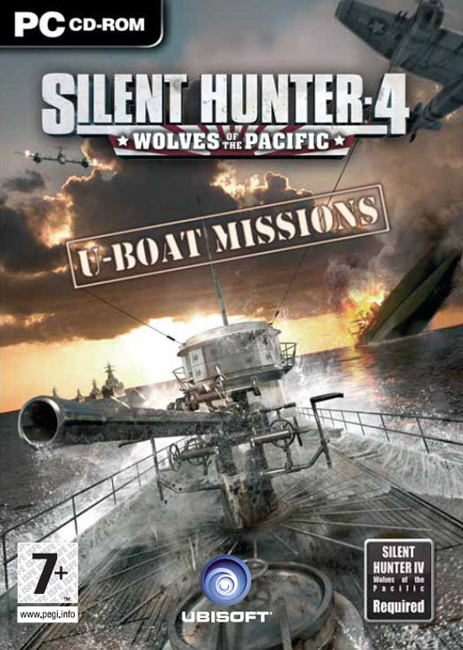 Silent Hunter 4 Add On: U-Boat Missions for PC Games image