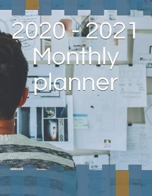 2020 - 2021 Monthly planner by Gail Notebooks