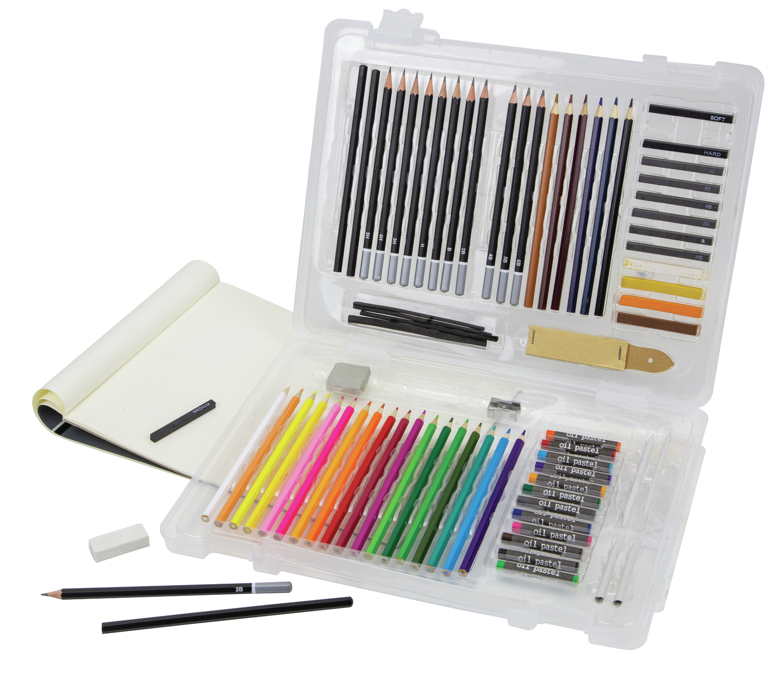 Art Advantage: Sketching Set (78 Pieces) image
