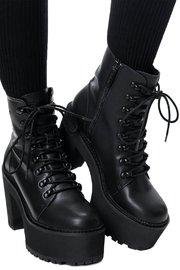 Killstar: Krystal Boots (Black) - W7 image