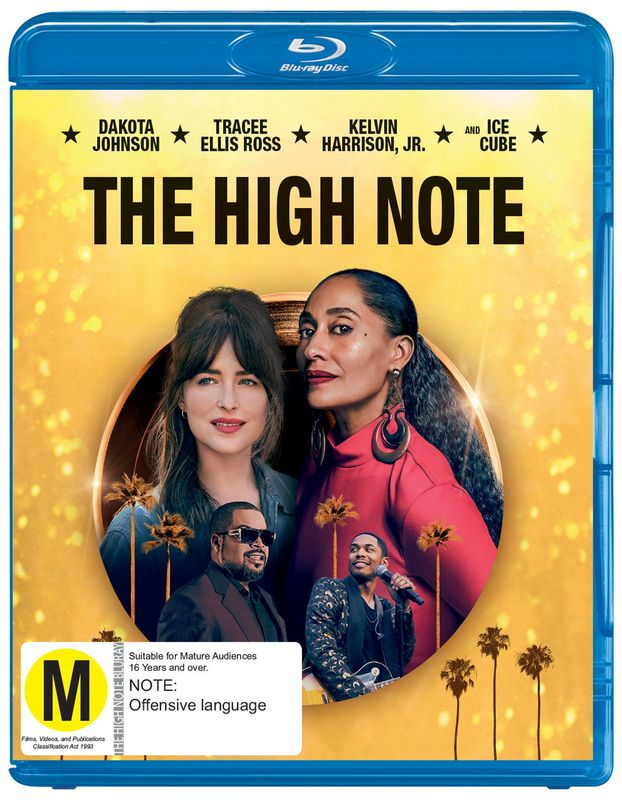 The High Note on Blu-ray