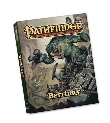 Pathfinder Roleplaying Game: Bestiary Pocket Edition by Jason Bulmahn image