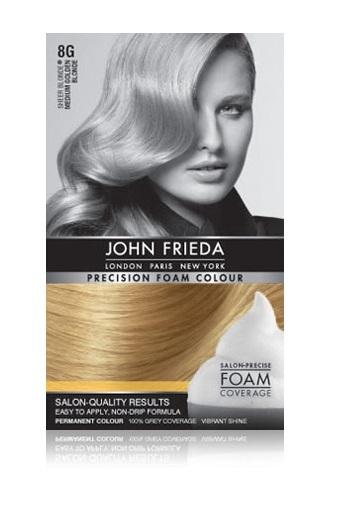 John Frieda Precision Foam Colour - 8G (Medium Golden Blonde) image