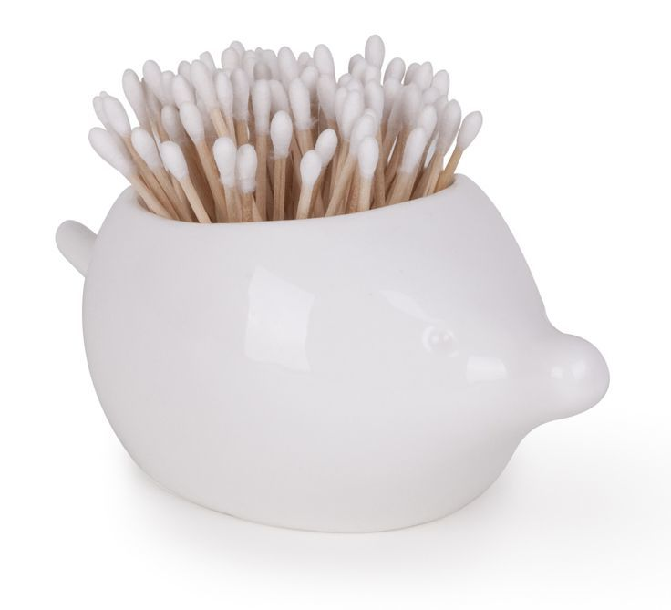 Foresta Porcupine Cotton Bud Canister image