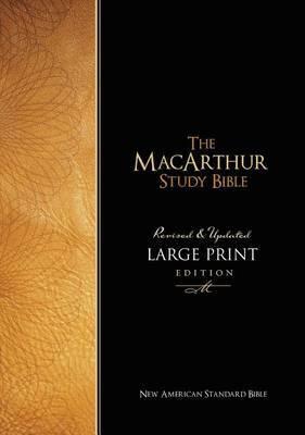 MacArthur Study Bible-NASB-Large Print by Thomas Nelson image