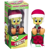 Looney Tunes: Tweety Bird - Christmas Wacky Wobbler Vinyl Figure