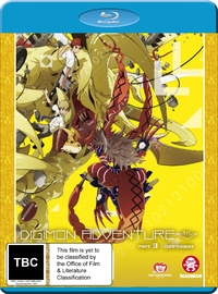 Digimon Adventure Tri. Part 3 - Confession on Blu-ray