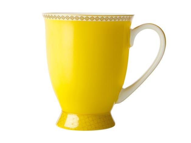 Maxwell & Williams: Teas & C's Contessa Classic Footed Mug - Yellow