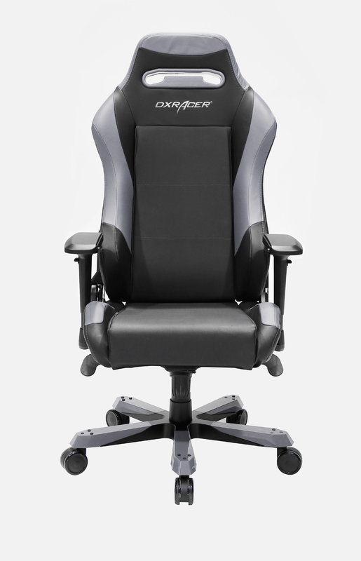 DXRacer Iron Series IS11 Gaming Chair (Black & Grey) for PC