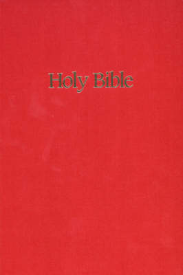 NIV Ministry/Pew Bible image