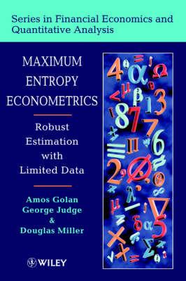 Maximum Entropy Econometrics by George G. Judge image
