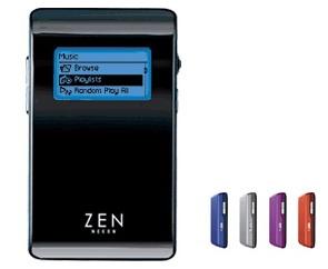 CREATIVE LABS Creative Zen Neeon Purple 6Gb FM SE MP3 Player image