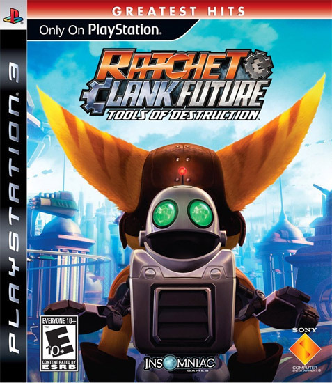 Ratchet & Clank Future: Tools of Destruction (U.S version, region free) for PS3