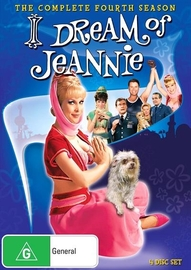 I Dream of Jeannie (Season 4) on DVD