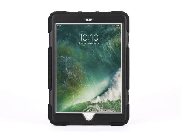 "Griffin Survivor All Terrain - iPad 9.7"" 2017/18 (Black/Clear)"