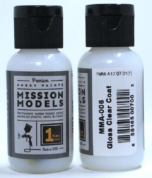 Mission Models Paint Gloss Clear Coat (29ml)