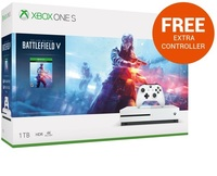 Xbox One S 1TB Battlefield V Console Bundle for Xbox One