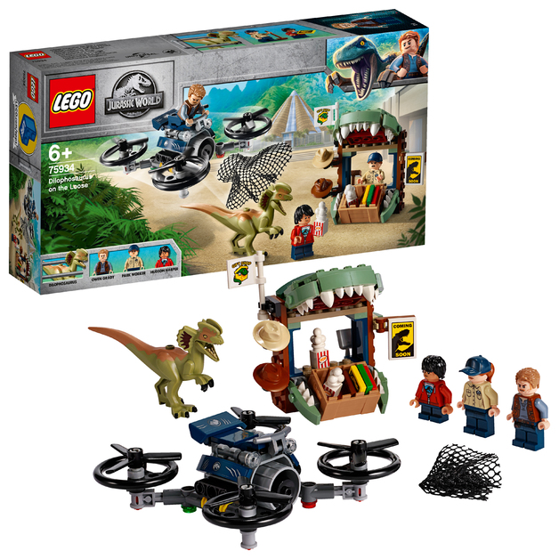 LEGO Jurassic World: Dilophosaurus on the Loose - (75934)