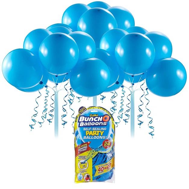 Bunch O' Balloons: Self Sealing Party Balloons - (24 x Blue)
