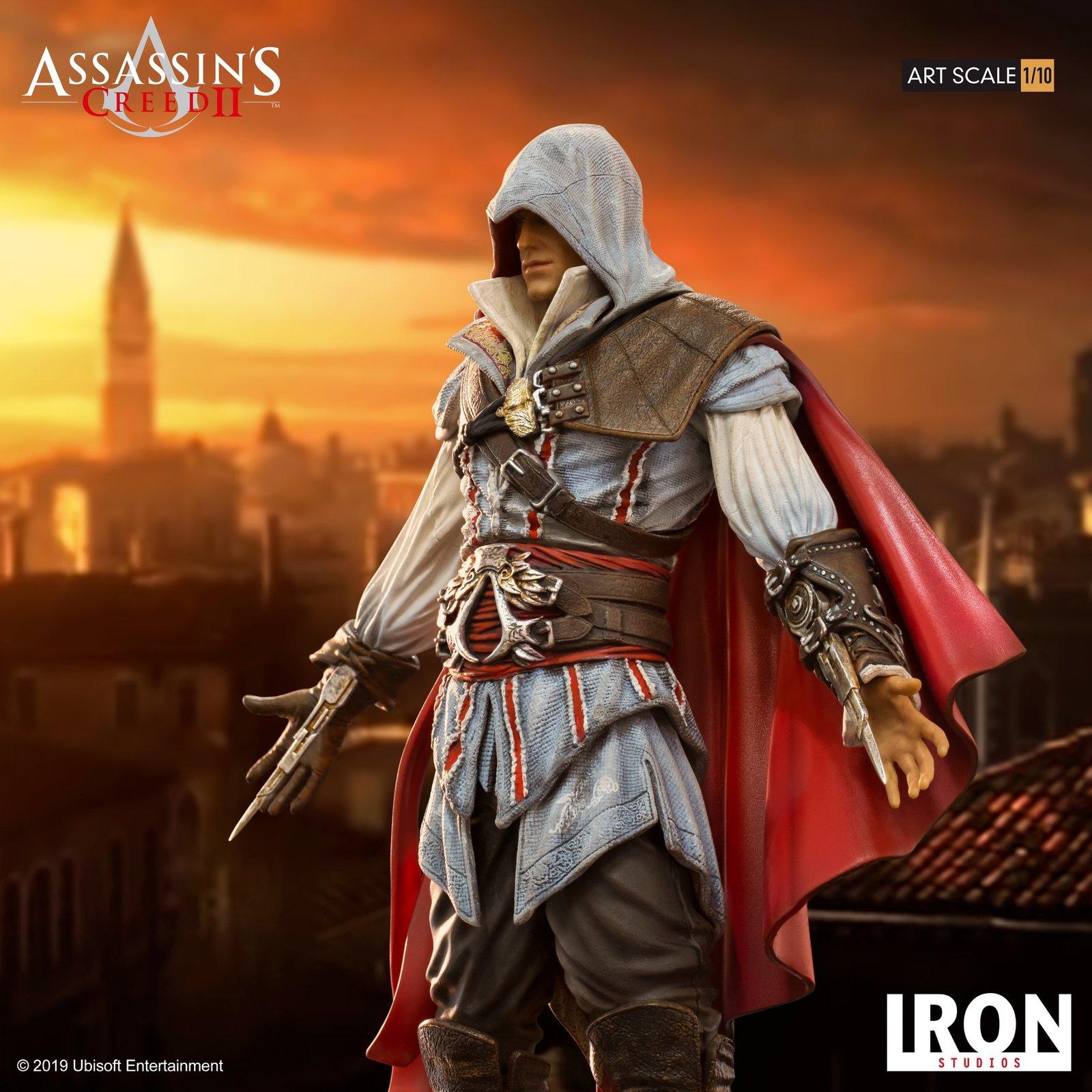 Assassin's Creed 2 - Ezio Auditore (Deluxe) 1:10 Scale Statue image