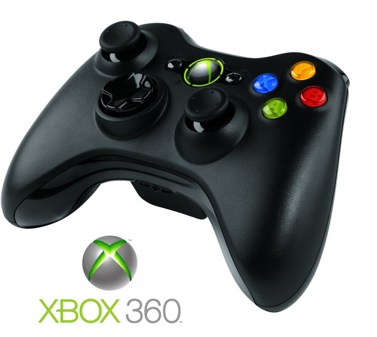 Xbox 360 Wireless Controller - Black (PC compatible) for Xbox 360 image