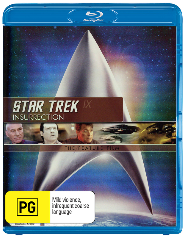 Star Trek IX: Insurrection - The Feature Film on Blu-ray