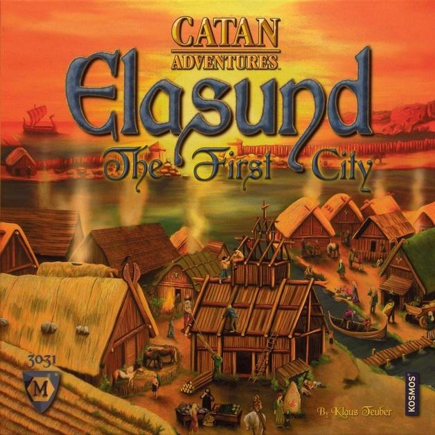 Catan: Adventures - Elasund The First City of Catan