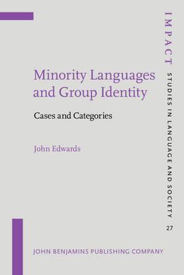 Minority Languages and Group Identity by John Edwards image