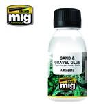 Ammo of Mig Jimenez: Sand & Gravel Glue - 100 ml