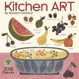 Kitchen Art 2018 Wall Calendar by Barbara Dziadosz