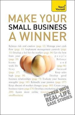 Make Your Small Business A Winner: Teach Yourself by Anna Hipkiss image