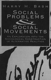 Social Problems And Social Movements by Harry H. Bash image