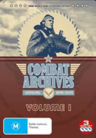 Combat Archives Vol. 1 (3 Disc Set) on DVD