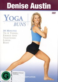 Denise Austin - Yoga Buns on DVD image
