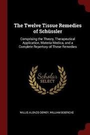 The Twelve Tissue Remedies of Schussler by Willis Alonzo Dewey image