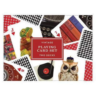 Galison: Playing Cards - Vintage