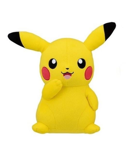 Pokemon: Pikachu Large Plush - Smiling - image
