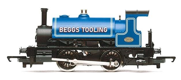 Hornby: Beggs Tooling, Class 264 'Pug', 0-4-0ST, 854 - Era 2/3