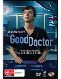The Good Doctor - The Complete Third Season on DVD image