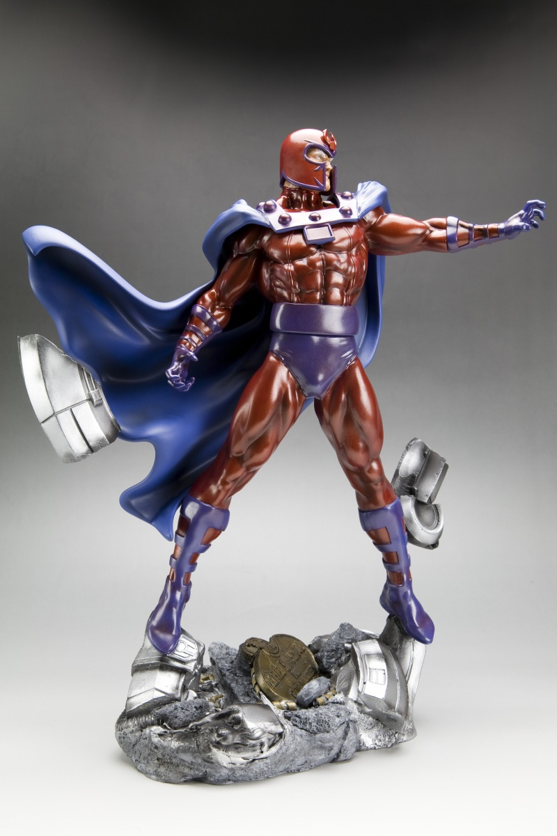 Marvel Magneto Fine Art 1:6 Polyresin Statue images, Image 2 of 6