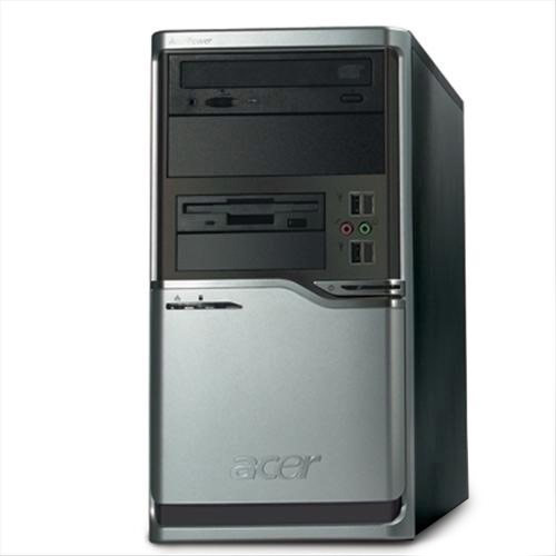 Acerpower Fh Minitower Desktop PC Intel Dual Core E2160 1GB 160GB DVDRW GBLAN XP Pro