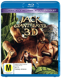 Jack the Giant Slayer on Blu-ray, 3D Blu-ray