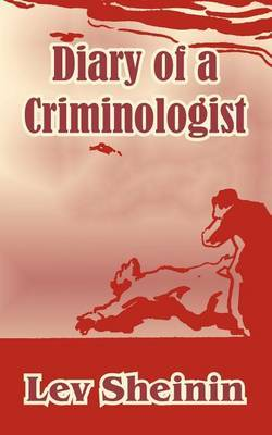 Diary of a Criminologist image