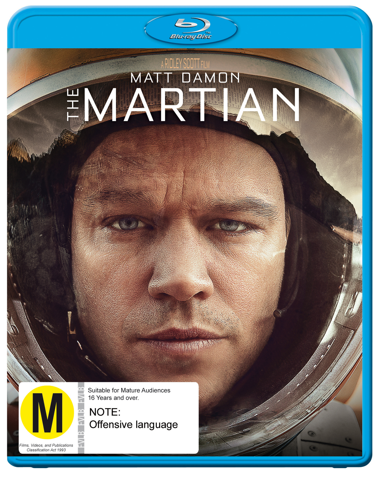 The Martian on Blu-ray image