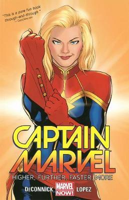 Captain Marvel Volume 1: Higher, Further, Faster, More by Kelly Sue DeConnick image