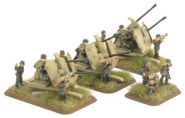 Flames of War: German 3.7cm Flakzwilling 43