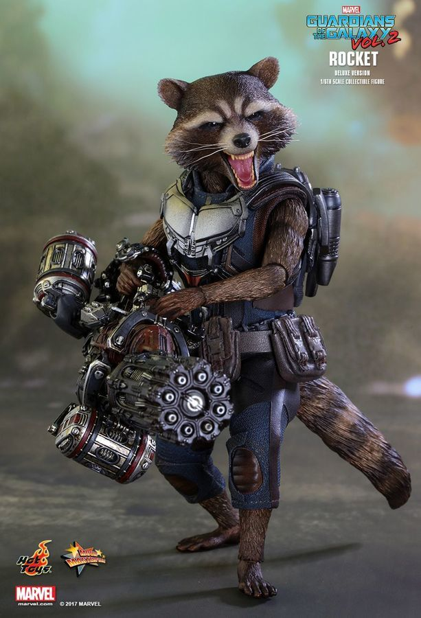"Guardians of the Galaxy: Vol. 2 - Rocket Deluxe 6"" Scale Action Figure image"